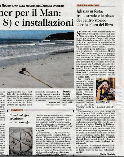 Unione Sarda 22.04.16