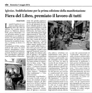 Sulcis Iglesiente Oggi 01.05.16