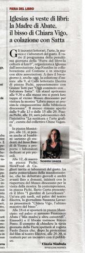 Unione Sarda 24.04.16